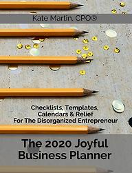 The 2020 Joyful Business Planner