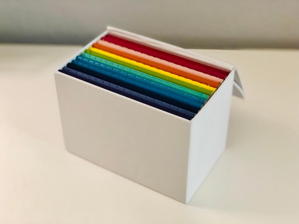inside Samsill's journal box