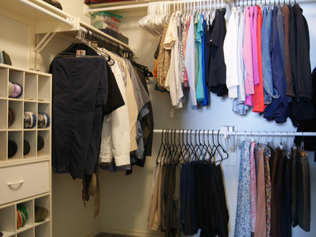 Organizing Your Master Closet Is Just Like Your Kitchen
