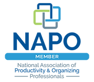 """Click to visit NAPO - National Association of Producitivy and Organizing Professionals"""