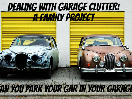 Garage Clutter: A Family Project