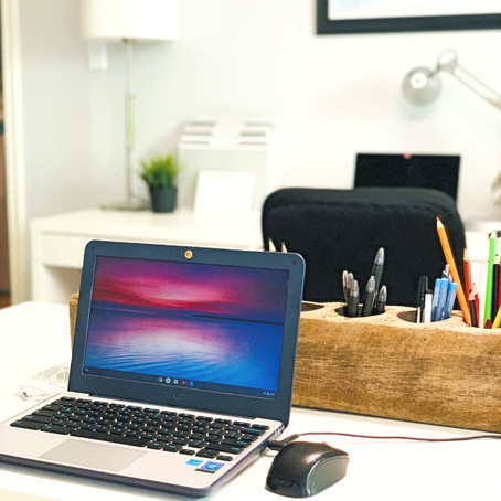 Do It All: Work From Home, Do Schoolwork & Create Art in 1 Organized Office