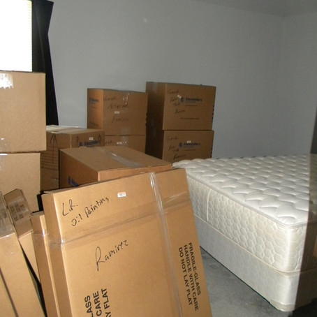 Downsizing and Moving into a New Home