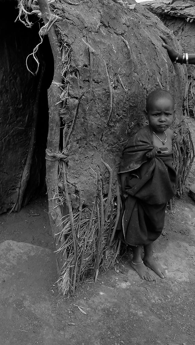 MONO - Mud Hut Boy by Patricia Mackey (11 marks)