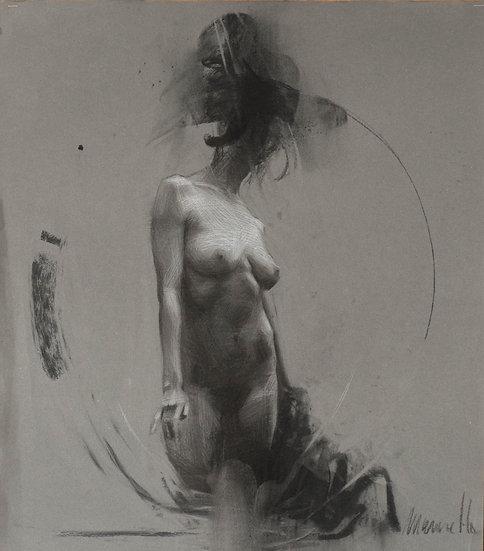 "Giclee print limited edition ""Human 18"""