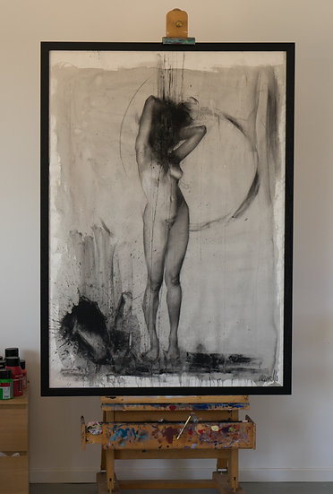 """Giclee print very limited edition """"Human 2"""""""