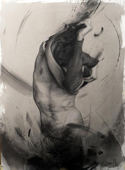 "Giclee print limited edition ""Human 22"""