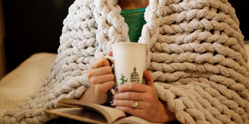 Chunky Chenille Blanket Workshop