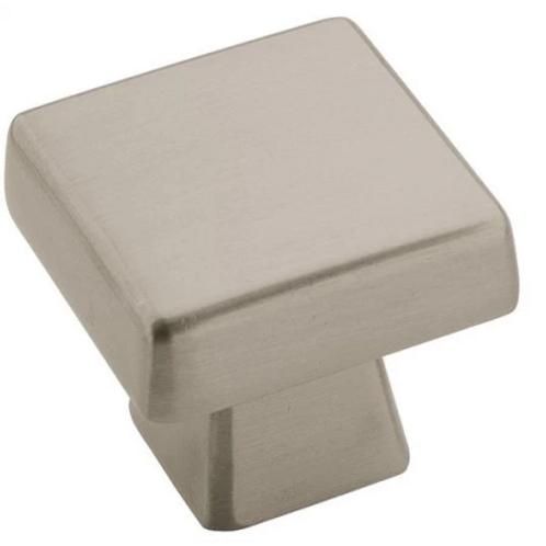 Blackrock 1-3/16 Inch Square Cabinet Knob