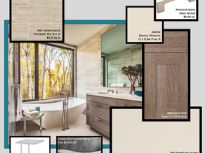 Elegant & Crisp Neutral Bathroom