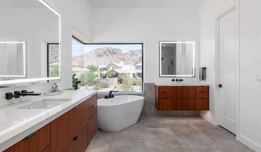 Biltmore Modern Master Bath
