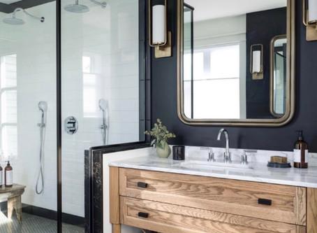 Modern meets Farmhouse Bathroom