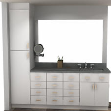 Vanity Design in Cad