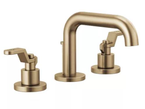 Brizio Litze 1.2 GPM Widespread Bathroom Faucet with Drain