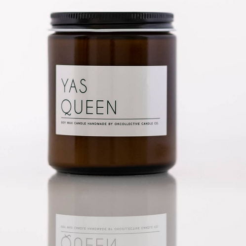 Yas Queen 8oz candle