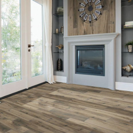 Montagna Harvestwood 6 in. x 36 in. Glazed Porcelain Floor and Wall Tile (14.50