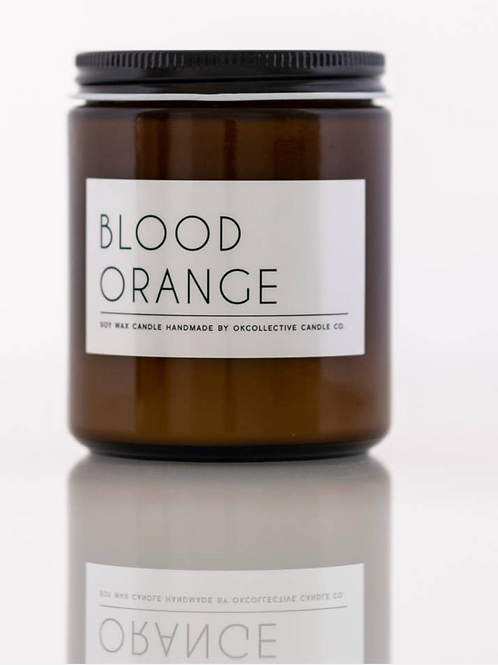 Blood Orange 8oz candle