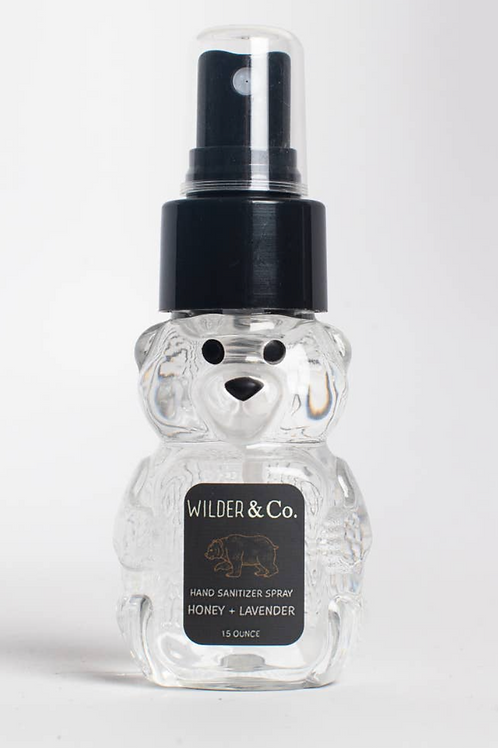 Honey Bear Hand Sanitizer Spray Honey + Lavender