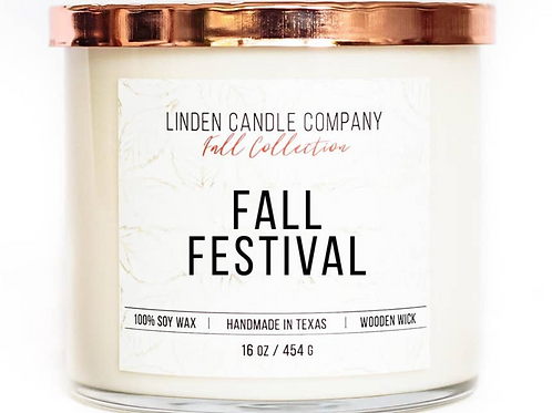 16oz Fall Festival Soy Candle