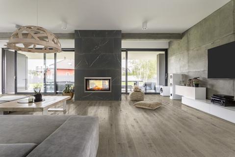 Living Room Industrial feel