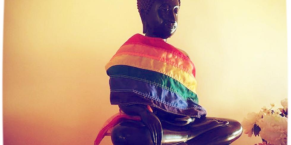 Finding True Refuge: LGBTQI Community Meditation Retreat lead by Anushka Fernandopulle and John Martin