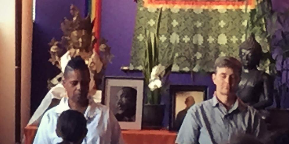 Mahasangha Friday Night Meditation Group at EBMC