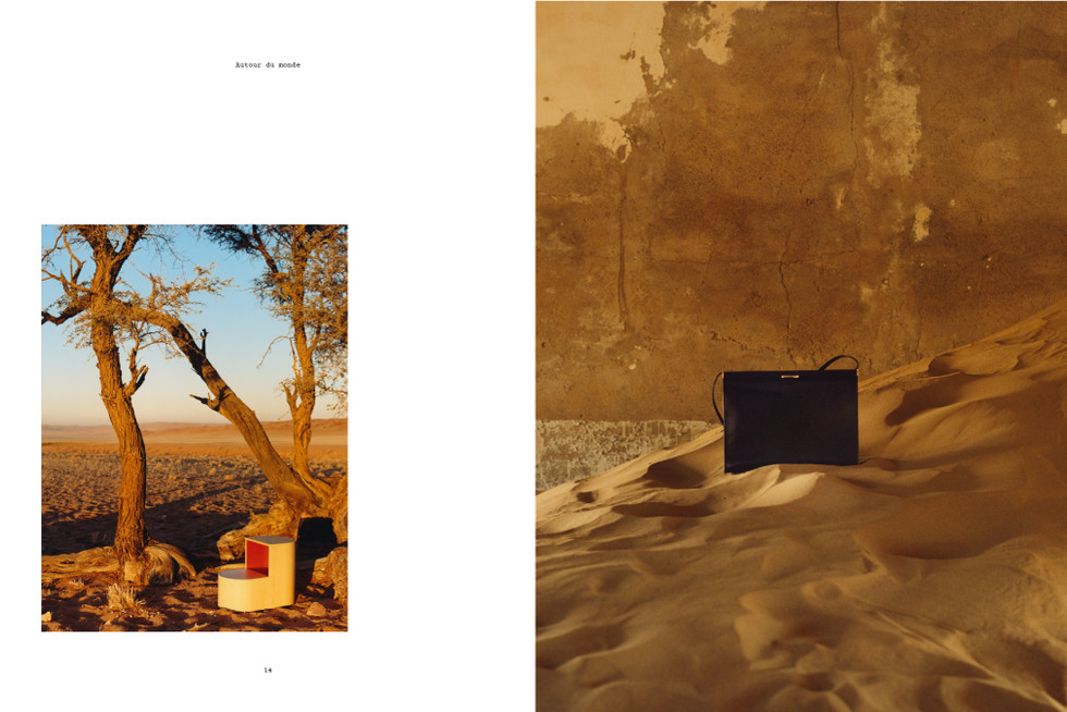 Hermes fashion shoot - produced in Namibia