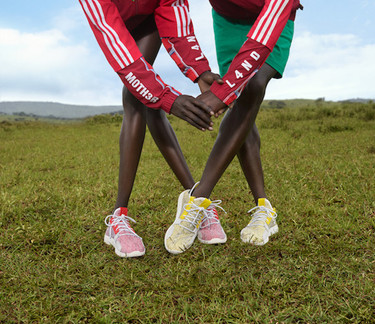 Adidas running apparel - photoshoot produced in  Kenya