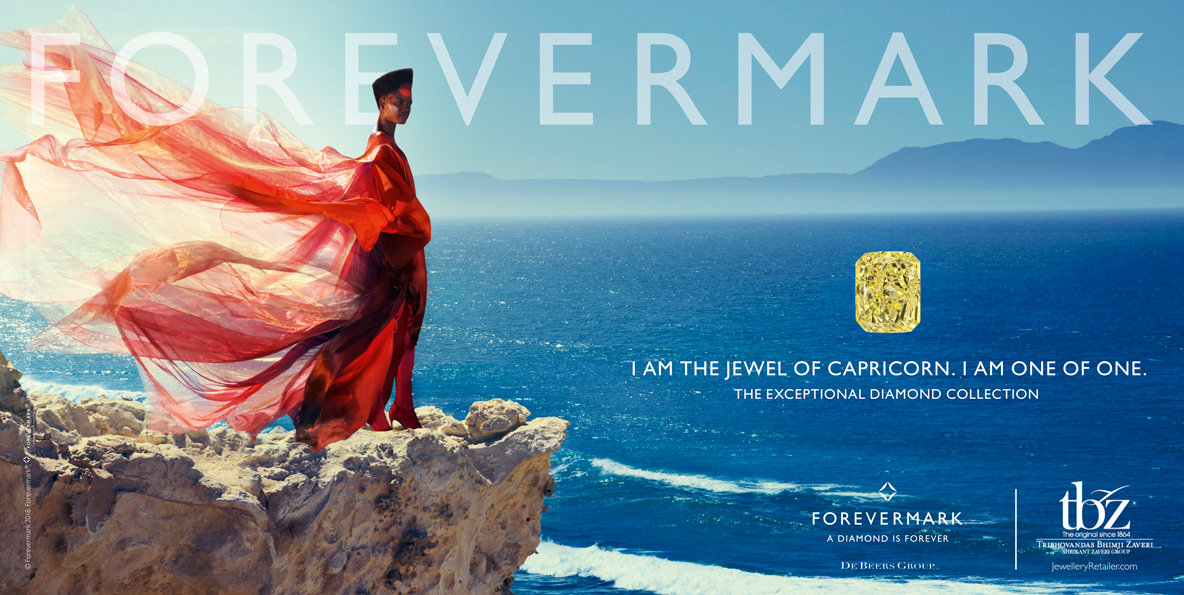 De Beers Forevermark Diamonds campaign produced in Cape Town