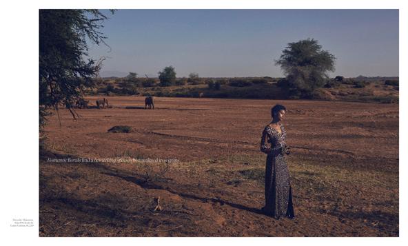 Porter Magazine Wildlife Photoshoot in Kenya