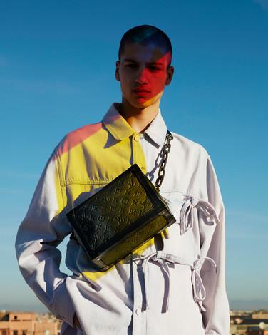 Louis Vuitton - colourful production campaign