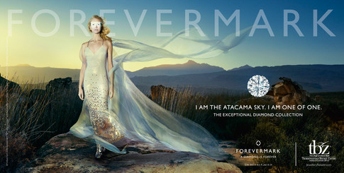 De Beers Forevermark Photography Production in Cape Town