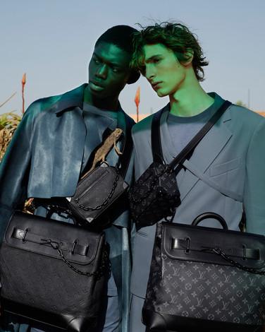 Louis Vuitton fashion stills shoot - Footprints campaign