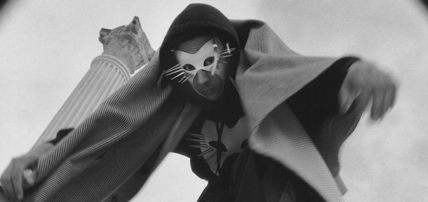 Gucci photography shoot - cat mask