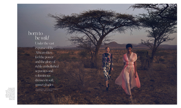 Porter Magazine - Supporting the Elephants in Kenya