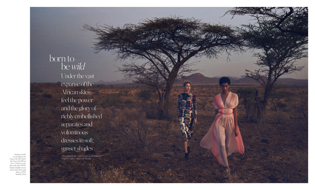 Porter Magazine - Supporting the Elephants in Kenya