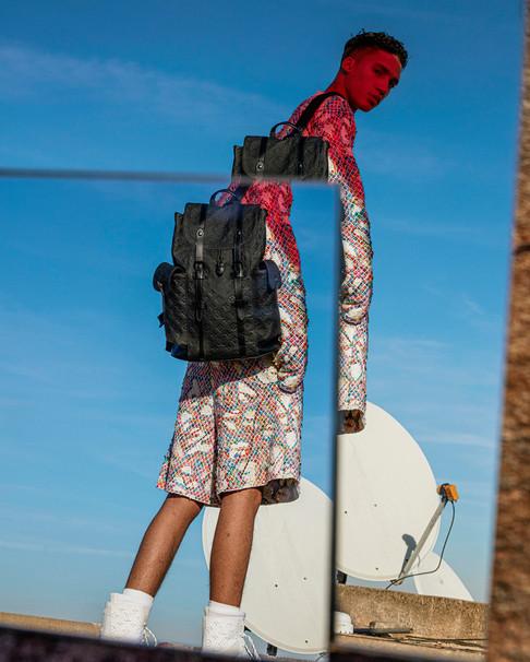 Louis Vuitton stills production - Morocco Footprints campaign