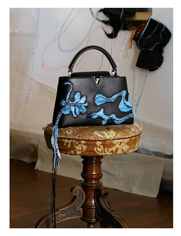 Louis Vuitton photoshoot in Johannesburg - Capucines Bag