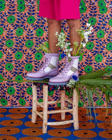 Louis Vuitton Fashion Shoot - Pink Shoes