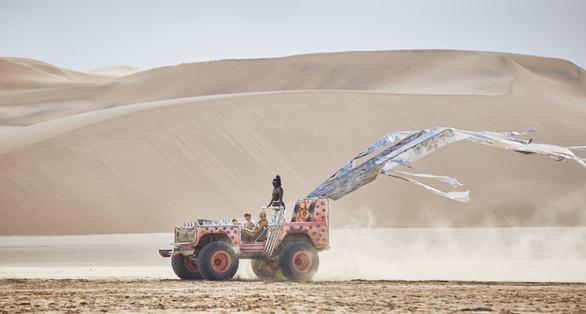 Paco Rabanne Photoshoot in Namib Desert