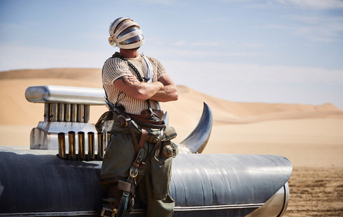 Paco Rabanne Mad Max style production