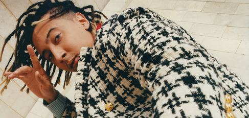 Gucci fashion shoot in Tunisia - man with coat