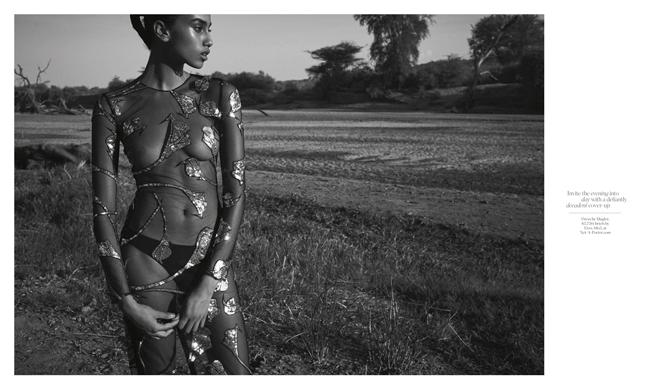 Porter Magazine Production in Kenya