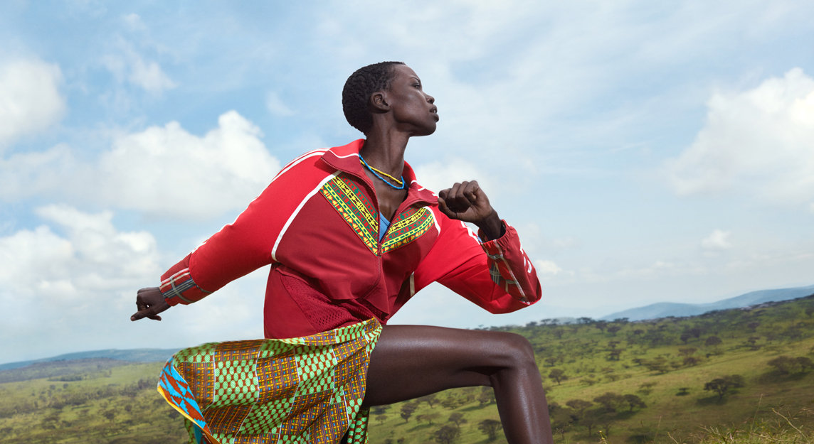 Adidas photoshoot in Kenya - Produced by Kent & Co. Productions