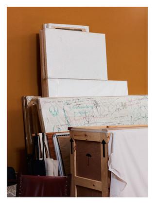 Louis Vuitton campaign production - artistic stills