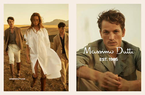 Massimo Dutti photoshoot in Cape Town - produced by Kent & Co. Productions
