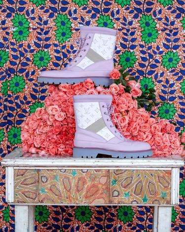 Louis Vuitton fashion photography - shoes
