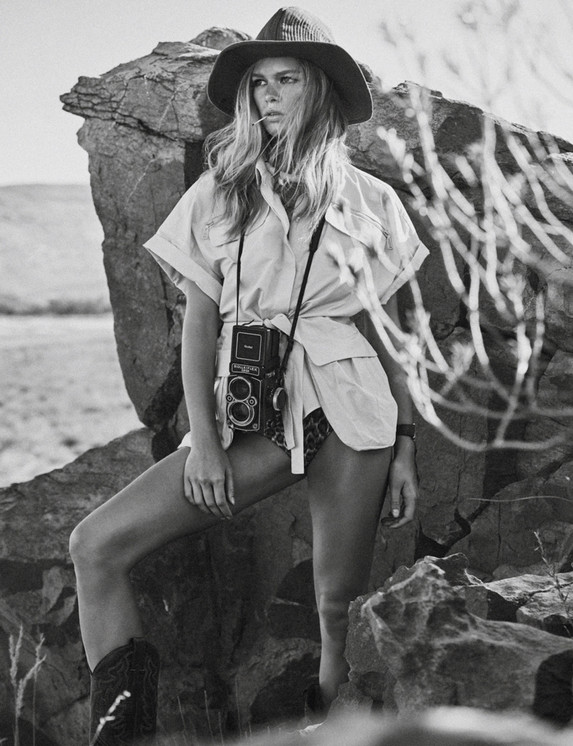 Vogue Paris - Photographed and Produced in Cape Town