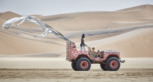 Paco Rabanne campaign produced in Namib Desert