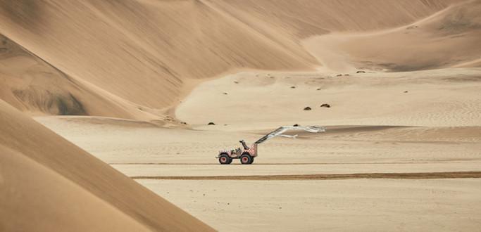 Paco Rabanne Namib Desert photography production